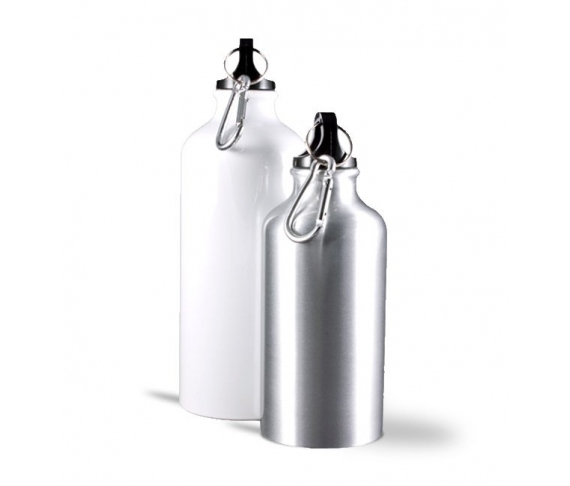 Aluminium travel bottle 500ml