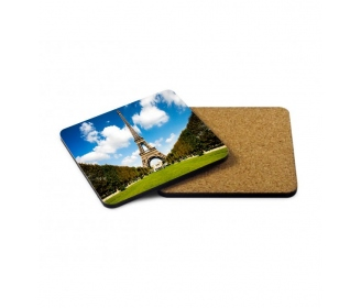 Square wooden coasters (MDF)