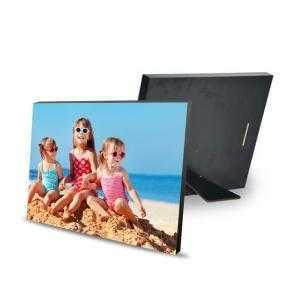 Porte-photos en bois 20 x 15 cm avec pied