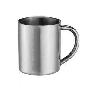 7,4 oz stainless steel mugs