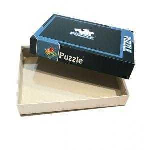 Cajas con diseños para puzzle