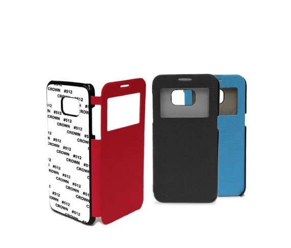 2D Flip cover case for Samsung Galaxy S7 edge