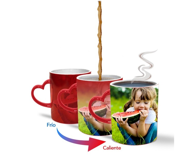 Customizable Ceramic Mugs With For Sublimation Magic Heart Handle thrdsCQx