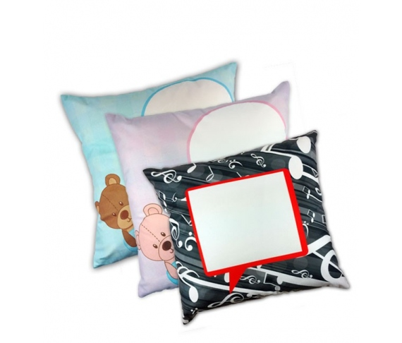 Cushion covers with pre-design