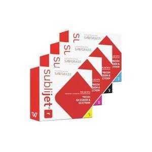 Encres pour sublimation Sublijet para Ricoh GXe3300 et GXe7700
