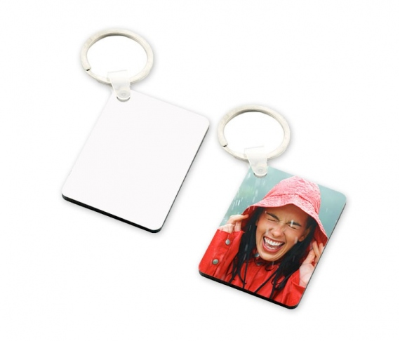 Wooden keychains sublimation