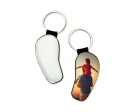 Leatherette keychain for sublimation