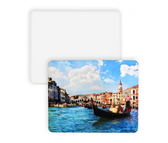 Fake leather customizable mouse mats