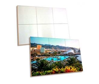 Tiles for sublimation