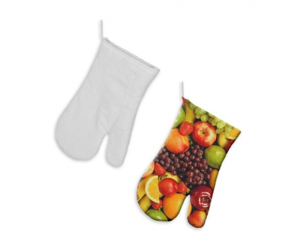 Customizable oven mitts