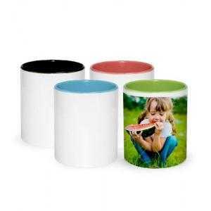 Récipients en céramique colorés