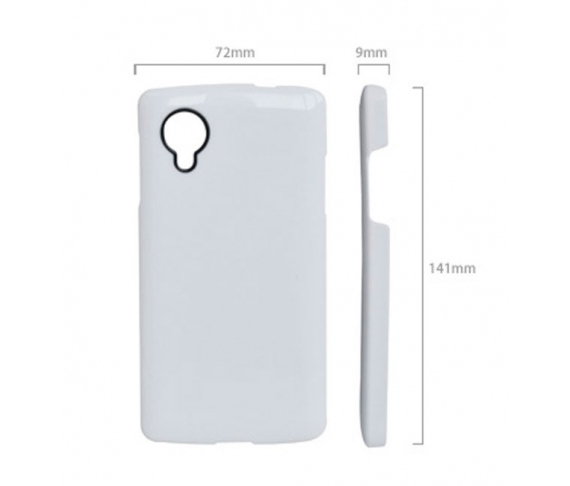 3D high quality Polyamide cases for Google Nexus 5