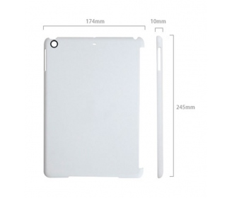 3D high quality Polyamide cases for iPad Air