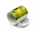 Luxe quality (AAA) white ceramic mugs