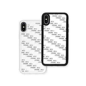 Coques 2D flexibles pour iPhone X / Xs