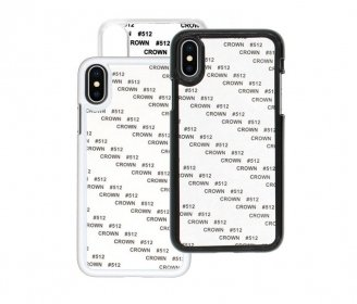 2D PC cases for iPhone X / Xs