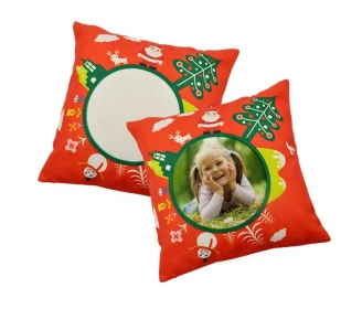 40x40 Christmas cushion cover (linen type)