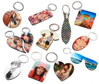 Wooden key chains (various shapes)