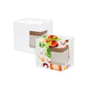 Boîtes de tasse avec fenêtre de sublimation
