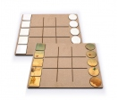 "Didactic game ""noughts and crosses"" of 10 pieces"