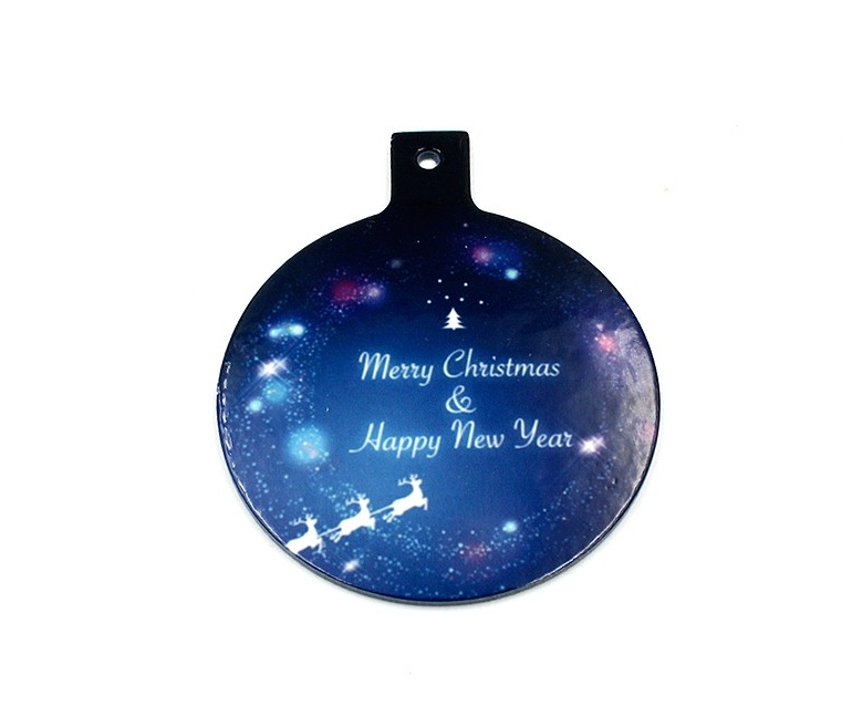 Sheets of 8 christmas ornaments (A4) for sublimation