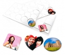 Fexible magnet sheet of 15 units (A4)