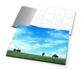 12 pieces wooden puzzle (A5)