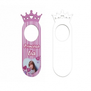 Colgadores princesa para puertas