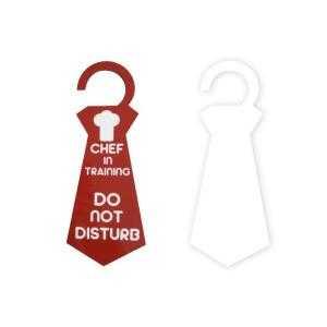 Tie door hangers