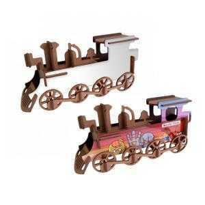 3D Train Puzzles