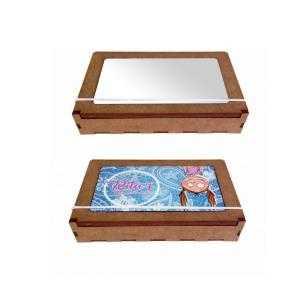 Puzzle Boîte avec fermeture élastique 3D