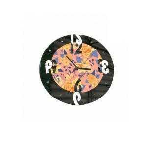 Relojes redondos de madera con espejo