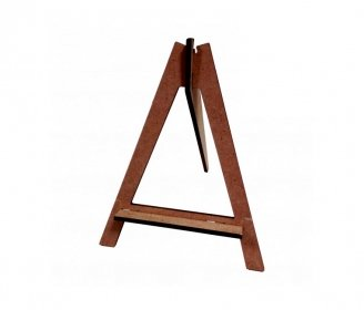 Wooden easels