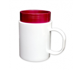 Mould for sublimation of the customizable plastic mugs