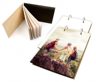Wooden notebooks