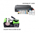 Pack thermal plate for mugs Galaxy + printer Epson ET-14000