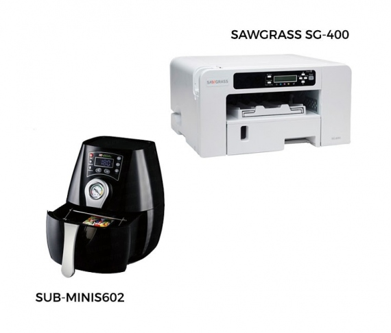 Pack oven + Sawgrass SG400 printer