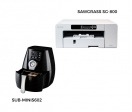 Pack oven + Sawgrass 800 printer