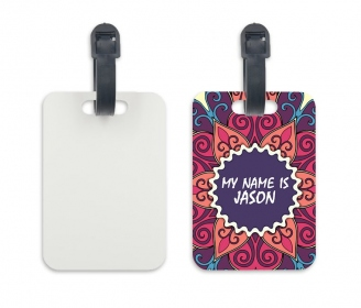 Customizable luggage label