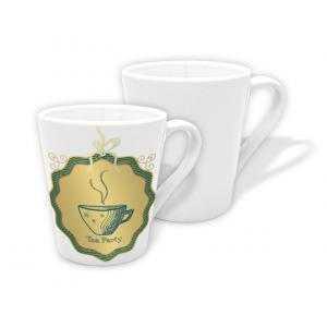 12 oz Conical ceramic cups