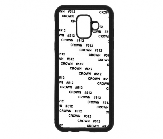 Carcasas 2D Flexible para Samsung Galaxy A6 plus