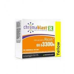 Encres pour sublimation  Chromablast para Ricoh GXe3300n/7700