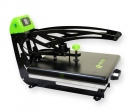 Flat thermal press of sublimation 38x38 Galaxy Auto Clam Slider (GS-103)