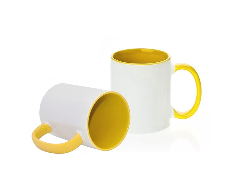 78a7ddeac High quality (A) mug with inside and handle colored for sublimation