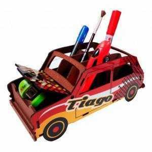 Crayon de voiture puzzle 3D