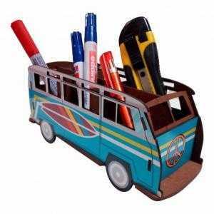 Van de crayon vintage puzzle 3d