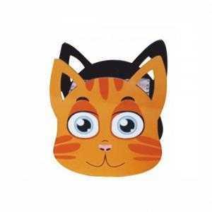 Tirelire en bois en forme de chat