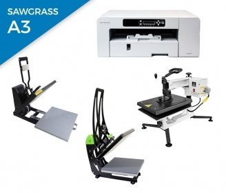 Pack thermal plate + printer Sawgrass 800