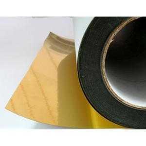 Film doré sur bobine (43 cm x 40 m)
