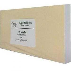 Papier TexPrint-R pour Ricoh et Sawgrass - 110 feuilles por mugs